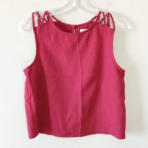 Abercrombie & Fitch   Crop Top Blouse Small